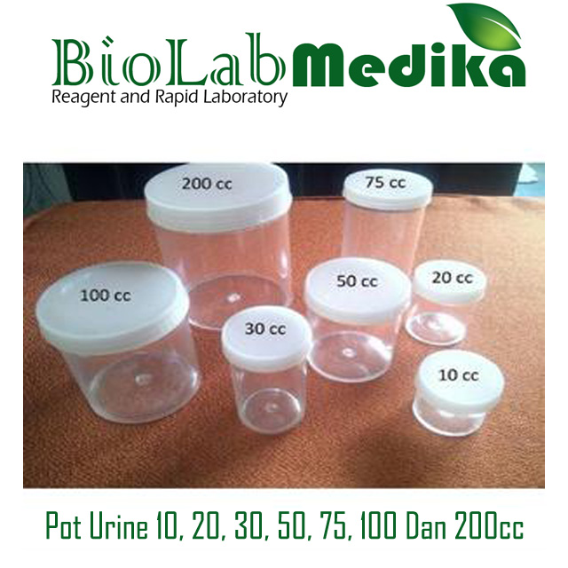 Pot Urine 10, 20, 30, 50, 75, 100 Dan 200cc