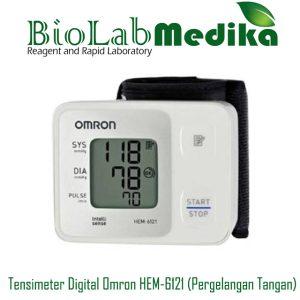Tensimeter Digital Omron HEM-6121 (Pergelangan Tangan)