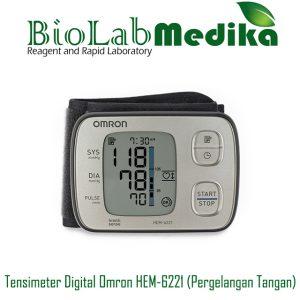 Tensimeter Digital Omron HEM-6221 (Pergelangan Tangan)