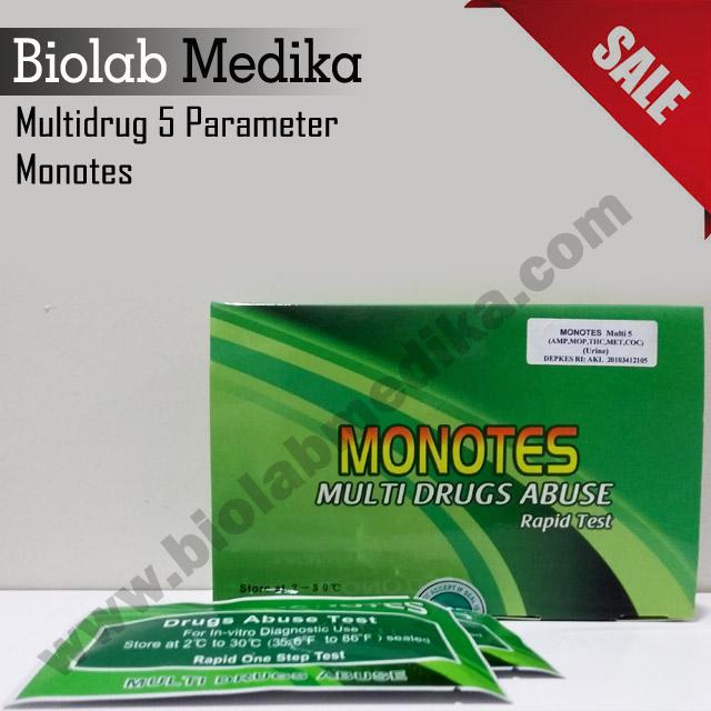 Multidrug 5 Parameter Monotes