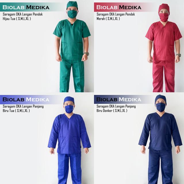Seragam rumah sakit lengkap