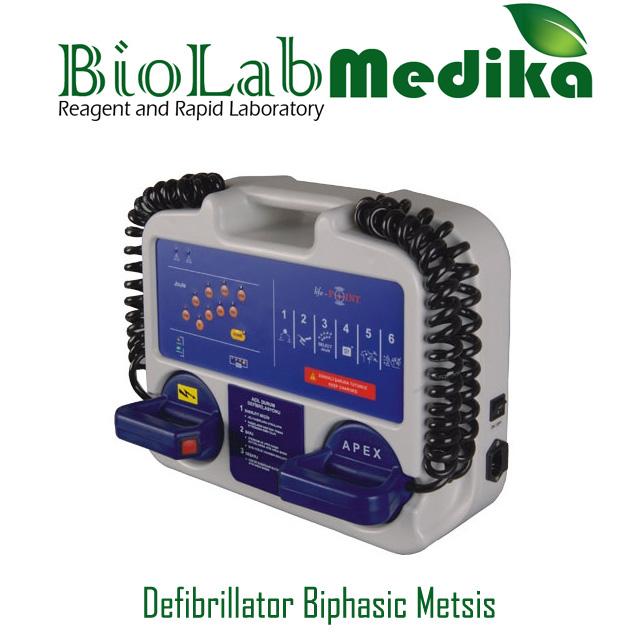 Defibrillator Biphasic Metsis