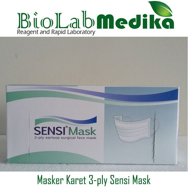 Masker Karet 3-ply Sensi Mask