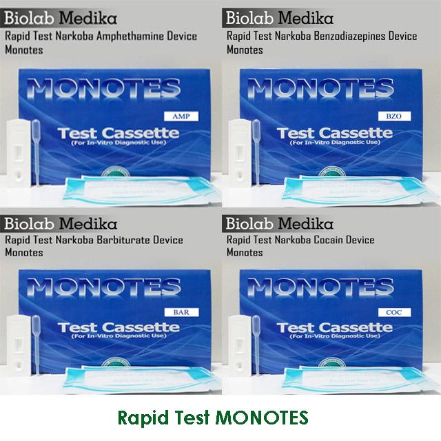 RAPID TEST MONOTES