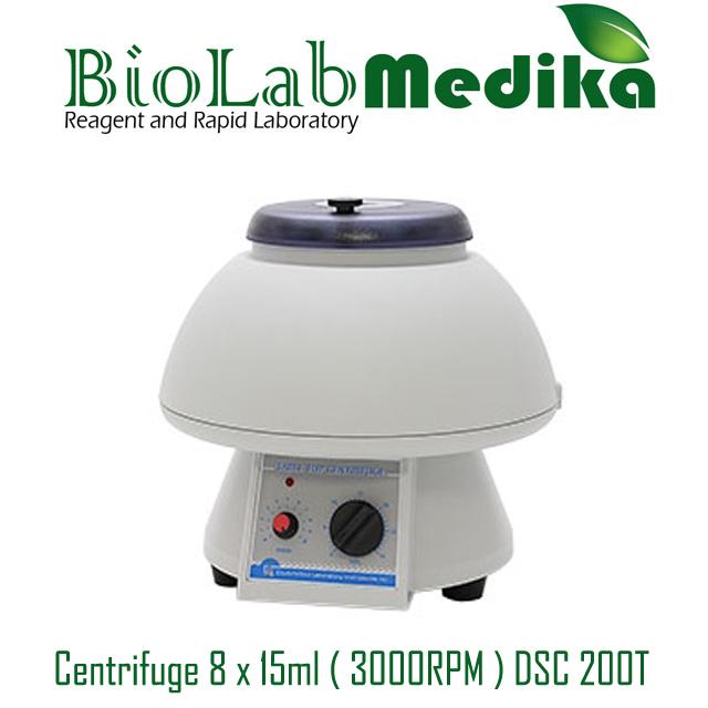 Centrifuge 8 x 15ml ( 3000RPM ) DSC 200T