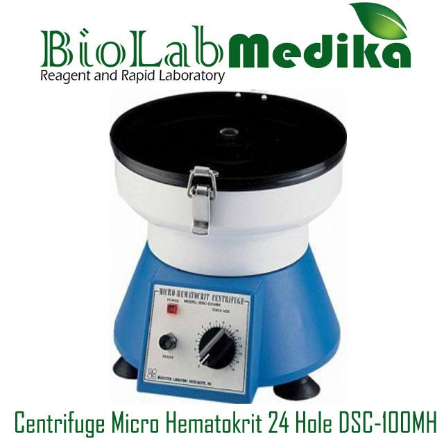Centrifuge Micro Hematokrit 24 Hole DSC-100MH