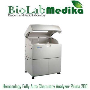 Hematology Fully Auto Chemistry Analyzer Prima 200