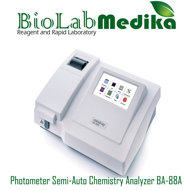 Photometer Semi-Auto Chemistry Analyzer BA-88A