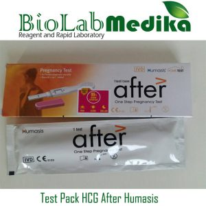 Test Pack HCG After Humasis