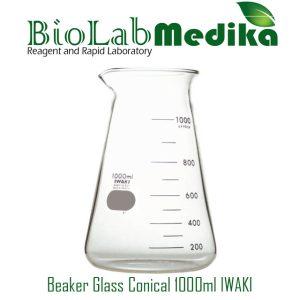 Jual Beaker Glass Conical 1000ml IWAKI