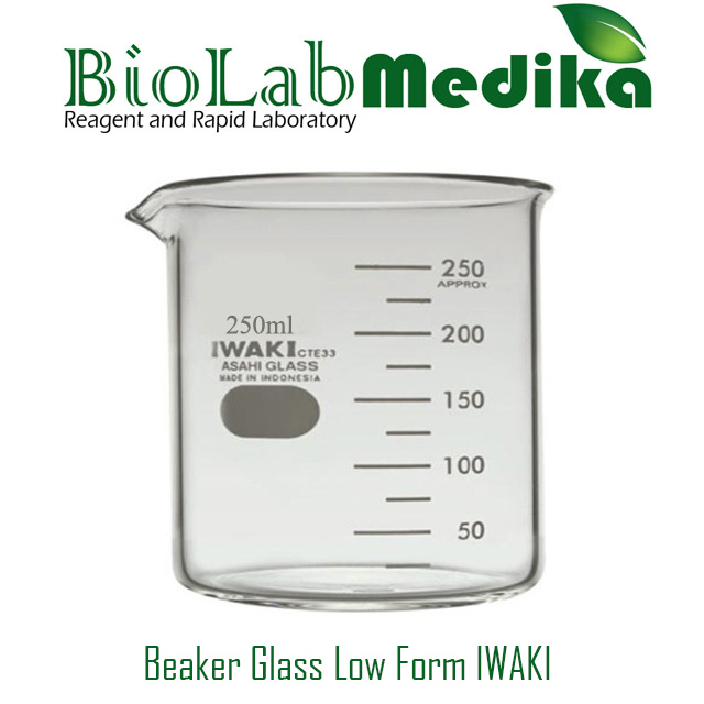 Beaker Glass Low Form IWAKI