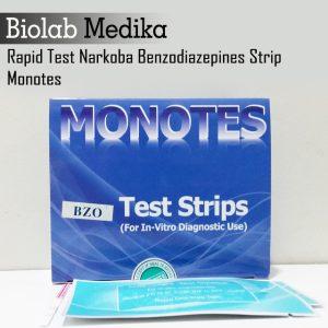 Jual Rapid Test Narkoba Benzodiazepines Strip Monotes