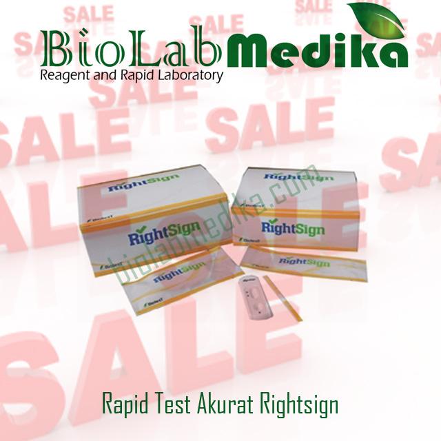 Rapid Test Narkoba Akurat Rightsign