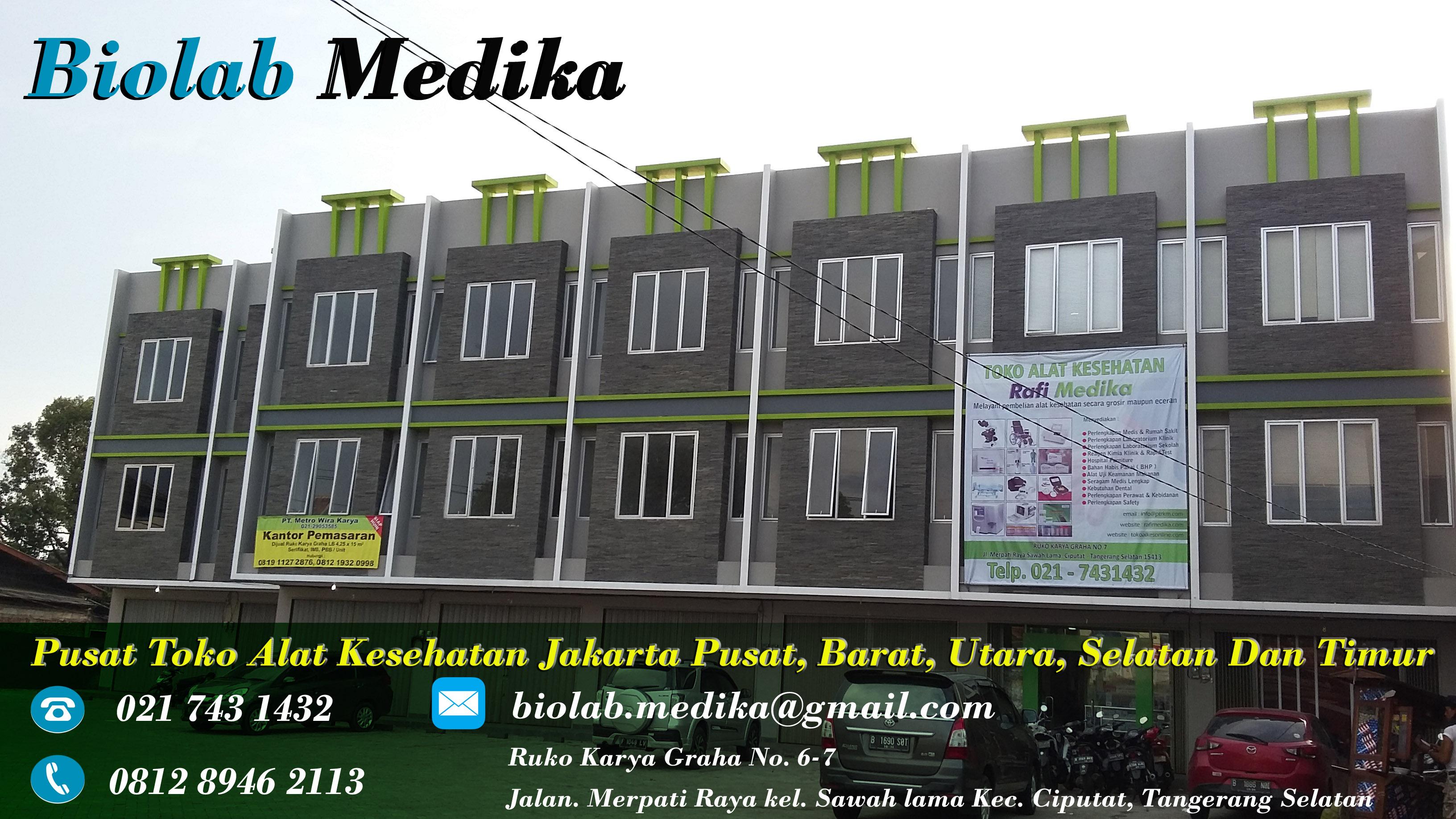 Pusat Toko Alat Kesehatan Jakarta