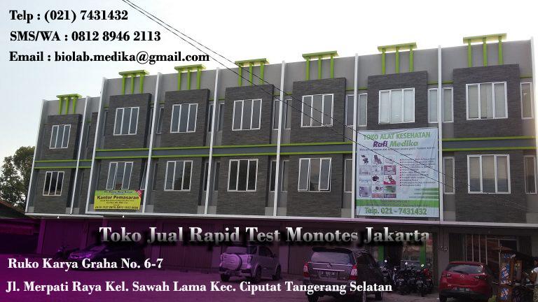 Toko Jual Rapid Test Monotes Jakarta