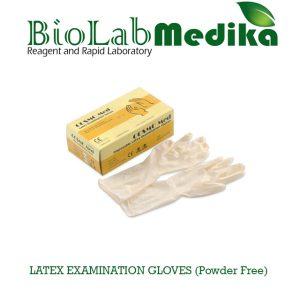 LATEX EXAMINATION GLOVES (Powder Free)
