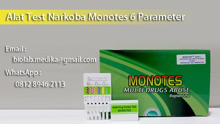 alat tes narkoba monotes akurat