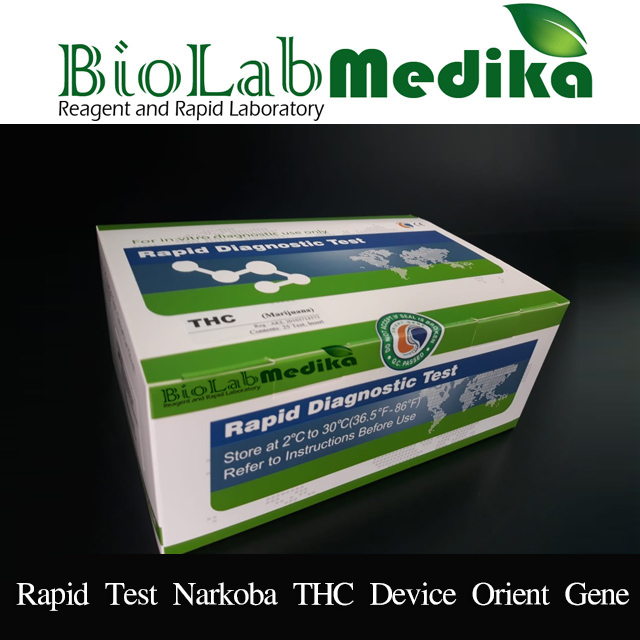Rapid Test Narkoba THC Device Orient Gene