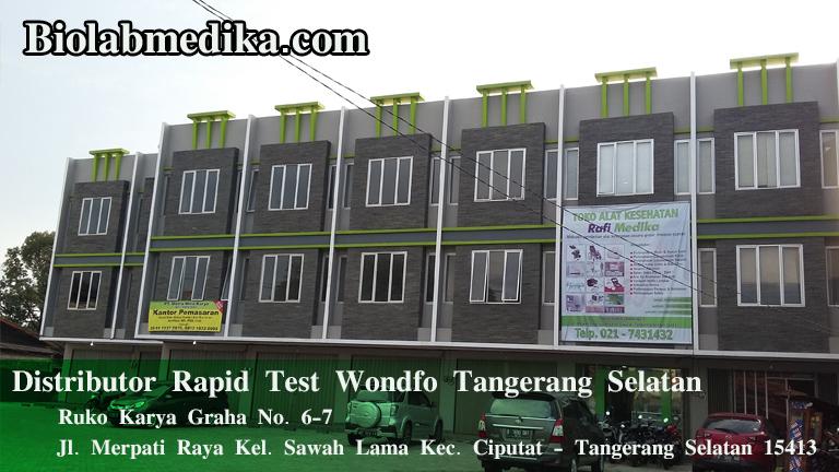 Distributor Rapid Test Wondfo Tangerang Selatan