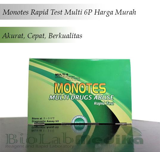 Monotes Rapid Test Multi 6P Harga Murah